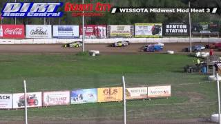Granite City Speedway 8 24 14 WISSOTA Midwest Modified Races
