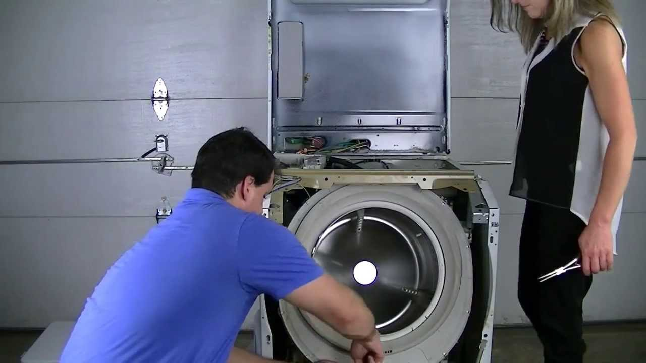 small resolution of maytag washer door seal replacement how to replace your 12002533 door boot youtube