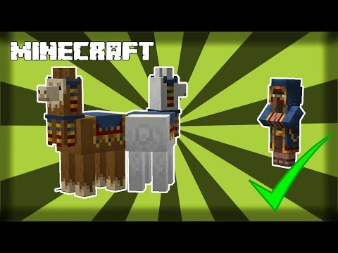 ✔ MINECRAFT | How to Find Wandering Traders! 1.14.4