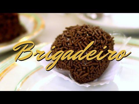 Brigadeiro: Brazilian desserts at Confeitaria Colombo in Rio de Janeiro, Brazil