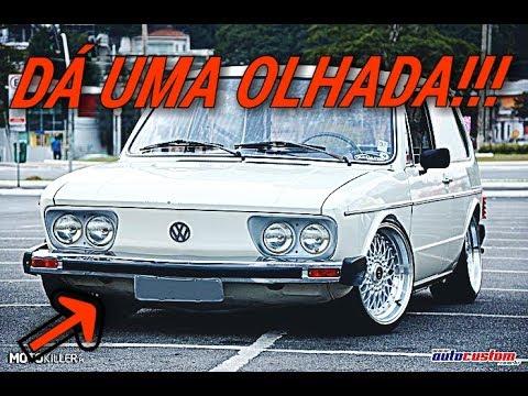 VW BRASILIA COM RAGTOP E RODAS BBS 17....#FUSCASHOW 2017