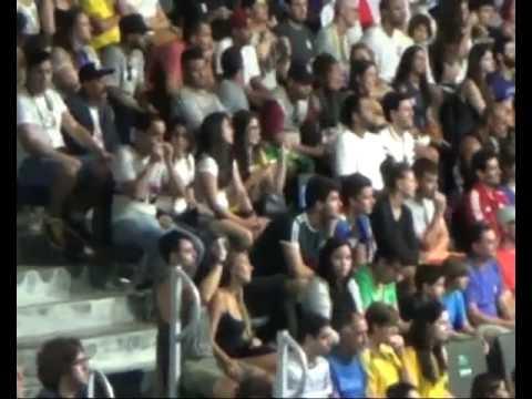 RIO 2016 - Entree en competition de la Team Cameroon par Charly Merinos Liatou