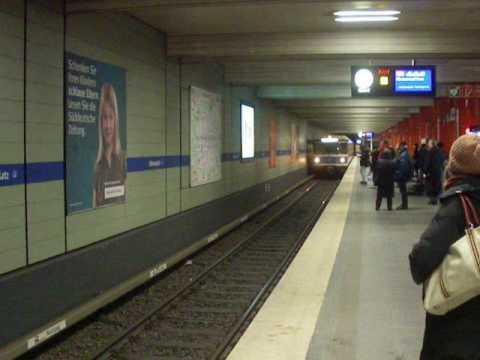Germany - Munich Underground Train.