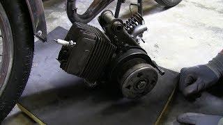 🏍 EPISODE 4 - Démontage moteur d'origine [ PEUGEOT 103 MVL ]