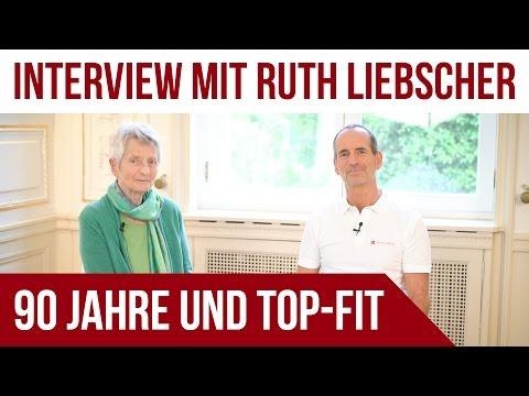 90 Jahre und immer noch Top-Fit! | Interview mit Ruth Liebscher | Wissen, Gesundheit
