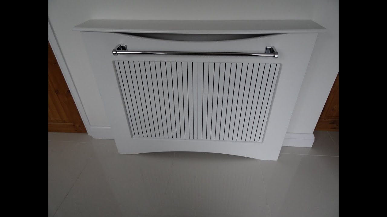 Ikea Kitchen With Radiator Cover With Add On Towel Holder