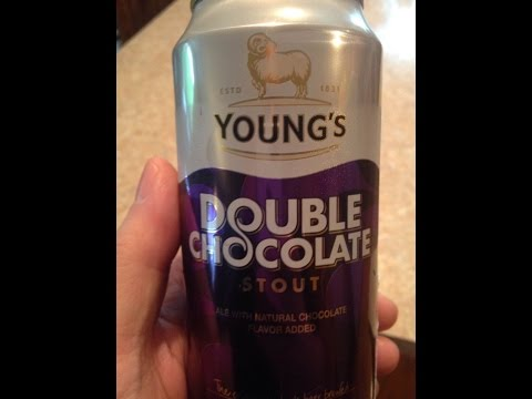 Beer Review - Young's Double Chocolate Stout - Delicious!