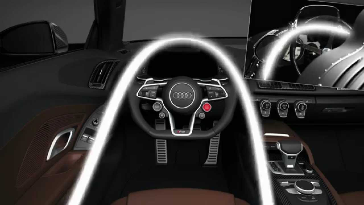 2015 audi r8 interior animation youtube. Black Bedroom Furniture Sets. Home Design Ideas