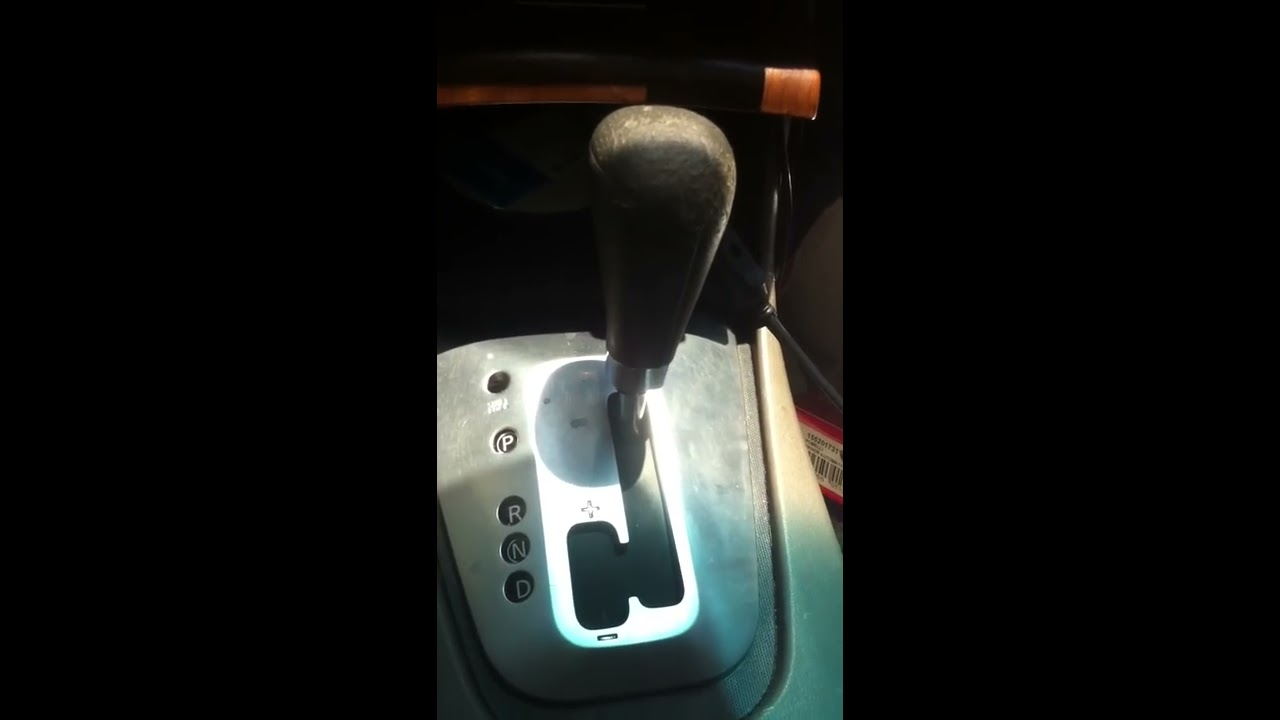 Nissan Altima Automatic Shift Knob Replacement Youtube