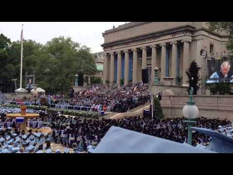 Class 2014 Columbia University Commencement