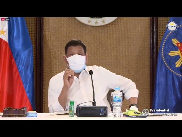 Pres  Duterte presses COA audit on Red Cross on how it spent gov't funds -  Sept  11, 2021