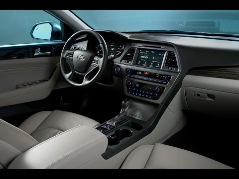 2016 Hyundai Sonata Hybrid Limited Short Interior Review