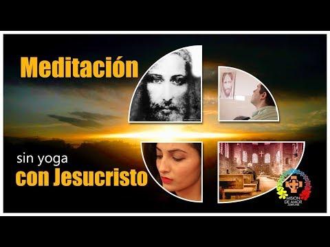 3 pasos para meditar con Jesucristo, sin yoga.