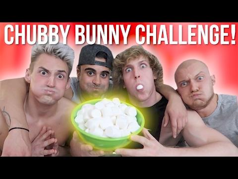 THE CHUBBY BUNNY CHALLENGE!