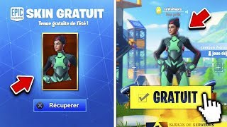 "RECUPERER THE NEW ""REPENSES"" FREE SUMMER ON FORTNITE!!"