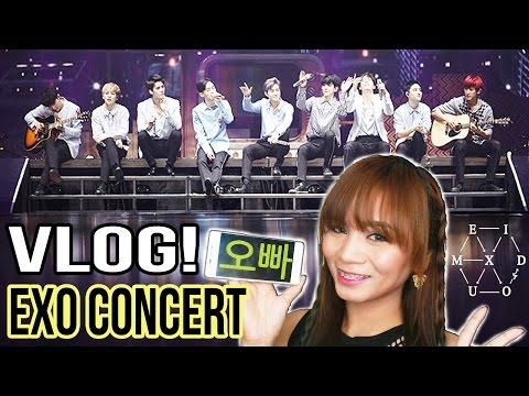 Tagalog Vlog : EXO CONCERT - EXOrDIUM in Manila 2017 (Vlog & Fancams!!)