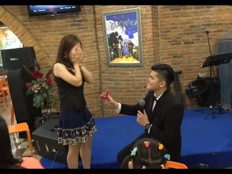 Surprise Marriage Proposal of Prana to Chatrine
