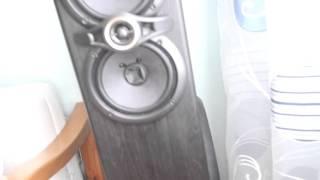 Решил повеселить своих соседей:) (Домашняя аудио система)