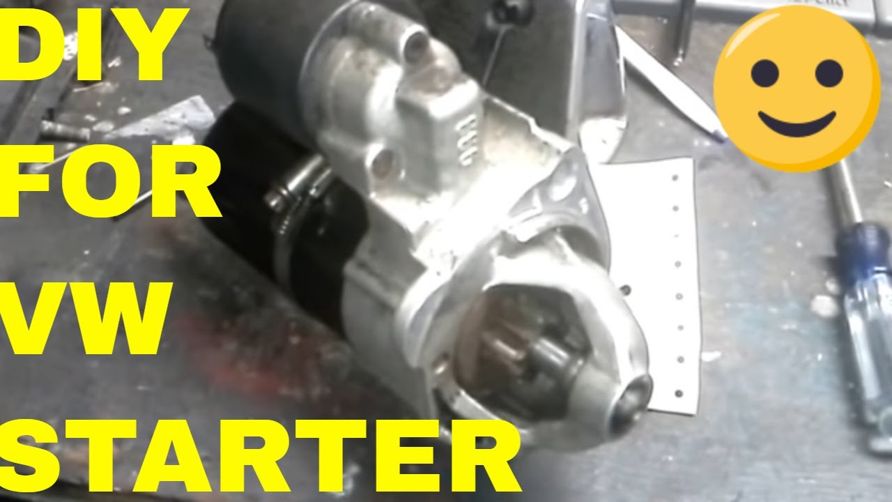 small resolution of how to replace vw passat jetta beetle golf starter