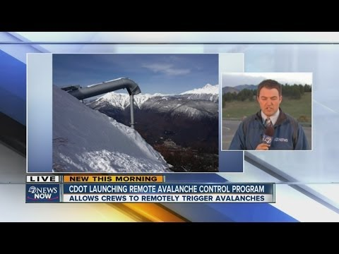 CDOT launching remote avalanche control program