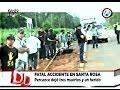 Grave accidente deja tres fallecidos y un herido