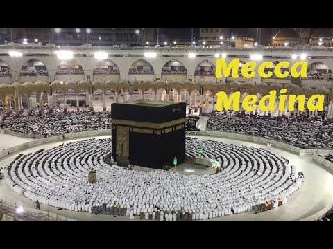 the holy land, Mecca and Medina الأرض المقدسة، عمرة لمكة والمدينة