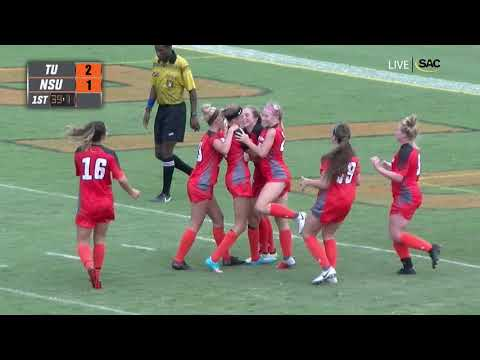 Tusculum University Women's Soccer Game Highlights vs #23 NSU