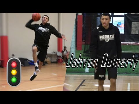 GREEN LIGHT! Jahvon Quinerly Raw Highlights @ Northeast Basketball Club Run - Session 6