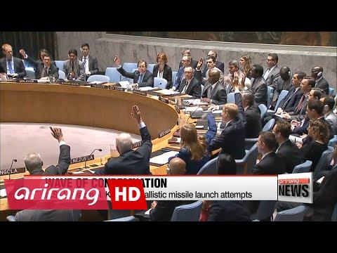 UN Security Council prepares N. Korea missile test response