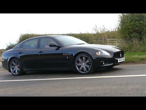 Maserati Quattroporte 4.7 V8 Sport GTS review. Best sounding 4-door ever?
