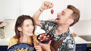 """Gotuj Się Na Zmiany"""" Damian Kordas & Karolina Pielesiak x Winiary"""