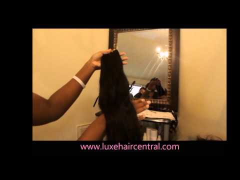 LUXE HAIR (virgin Indian straight)  REVIEW (Very thorough)