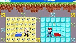 Mädchen vs. SpongeBob Lucky Block