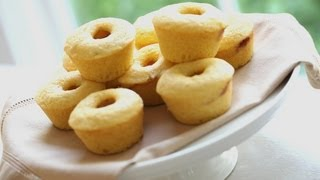 Beth's Cornbread Muffins With Raspberry Jam Centers