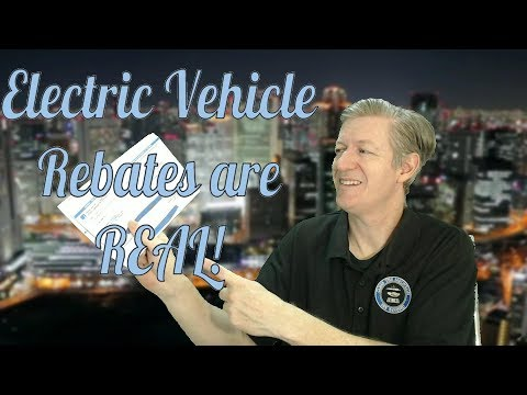 Electric Vehicle Rebates Are Real!
