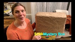 THE WIFE Opens Up a $250 MYSTERY BOX + Ultimate Surprise Unboxing!