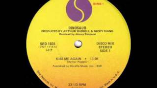 "Dinosaur - Kiss Me Again 12"" (Side A, 1978)"