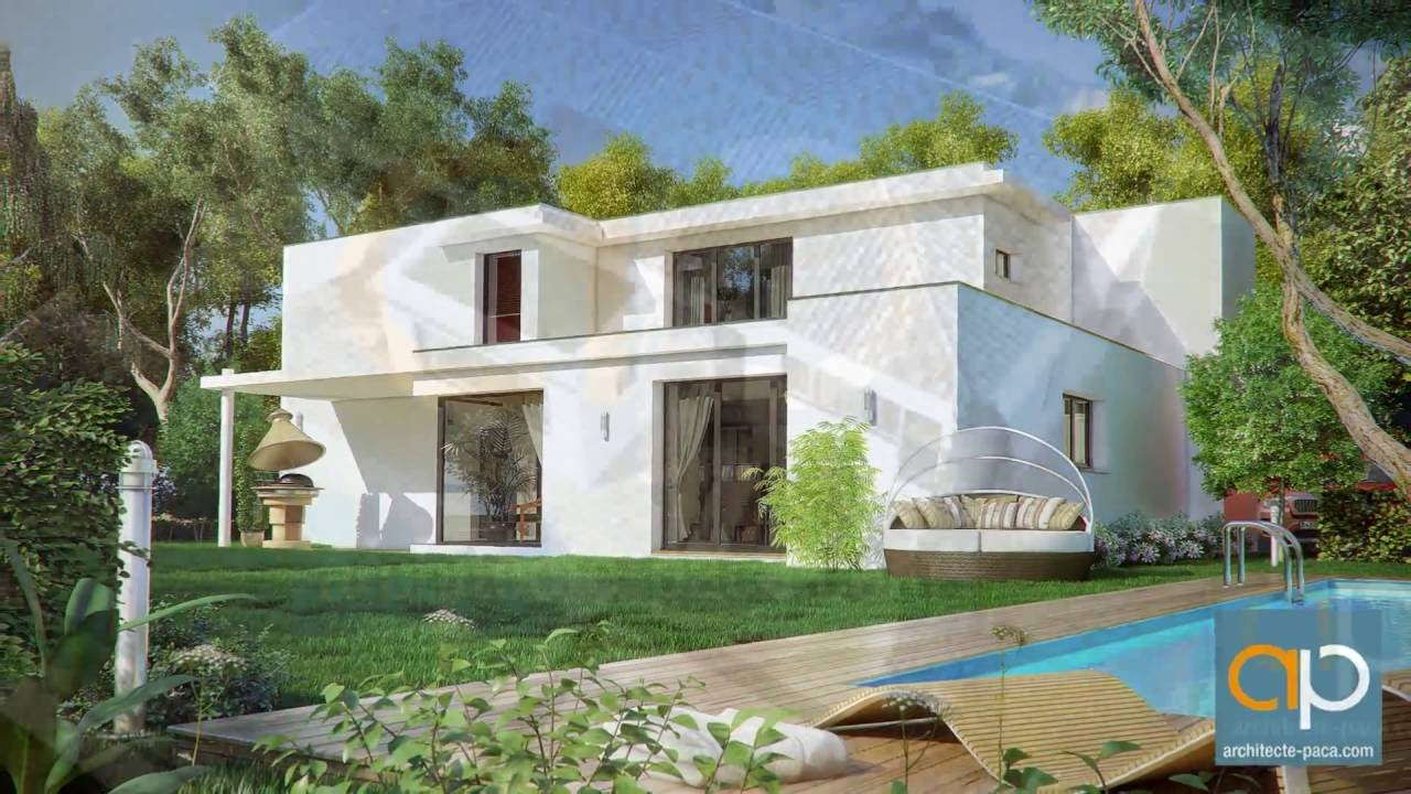 Maison moderne d 39 architecte architecte youtube for Architecture maison