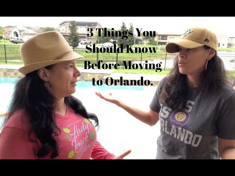 About Orlando, Florida : 3 Questions that Will Change Your Life Before Moving to Orlando.