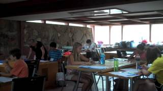 Summer Camp At Taliesin West