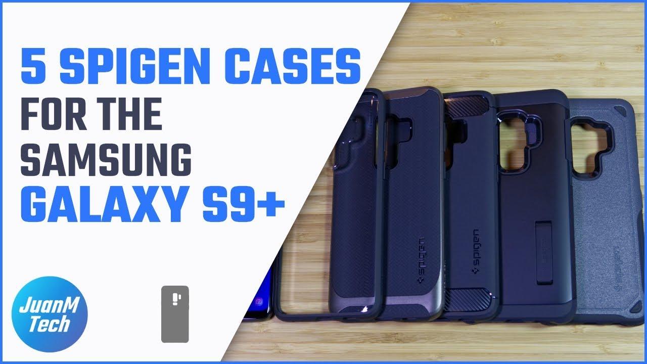 more photos e8181 c25a6 Top 5 Spigen cases for the Samsung Galaxy S9/S9 Plus
