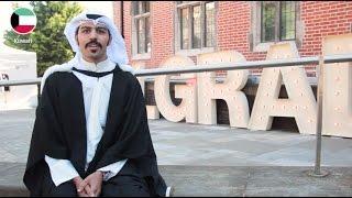 INTO Graduation: Newcastle University student Abdullah celebrates