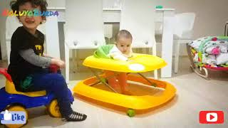 Kuzey Kardeşi Liya ile Oynuyor | Kuzey Play with His Sister Liya