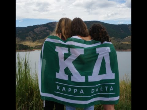 Kappa Delta at Colorado State University Recruitment Video 2018