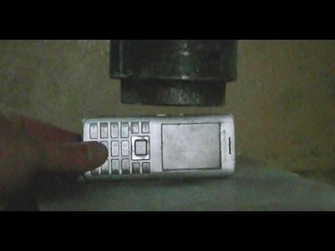benq-siemens phones vs hydraulic press
