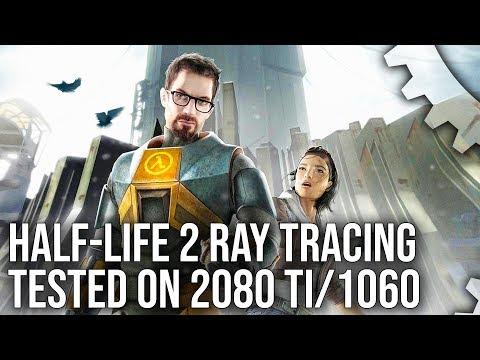 Half-Life 2 Ray Tracing Live Play: Mod Showcase on Source Engine!