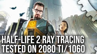 Half-Life 2 Ray Tracing Live Play: Mod Showcase On Source Engine!