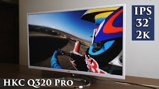 32 inches av rent IPS-nöje HKC Q320 Pro
