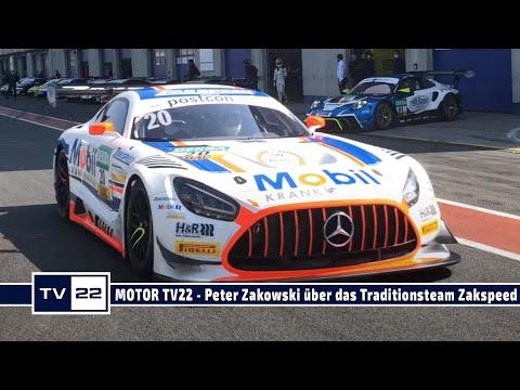 MOTOR TV22: Peter Zakowski über das Traditionsteam Zakspeed - 50 Jahre Motorsport