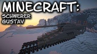 Minecraft: Railway Gun Tutorial (Schwerer Gustav/Dora)